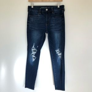 American Eagle Women's High Rise Jegging Size 8 Short